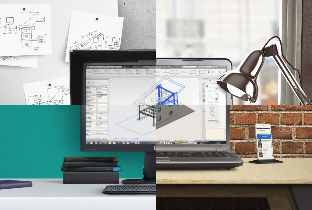 Collaboration for Revit - 4 Desks