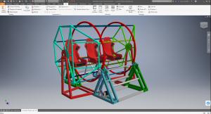 Metallraami modelleerimine tarkvaras Inventor