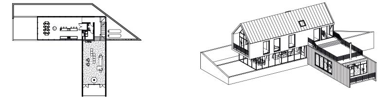 Revit 2D-to-3D-model