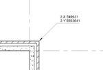 Revit ehitusluba XY koordinaadid